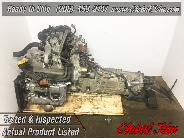 JDM Subaru Impreza WRX EJ205 AVCS Engine 5 Speed Transmission 2002-2005 - B479135
