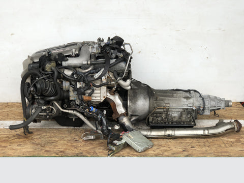 JDM Nissan Skyline GTT R34 RB25DET NEO 2.5L Turbo Engine Automatic Gearbox AT