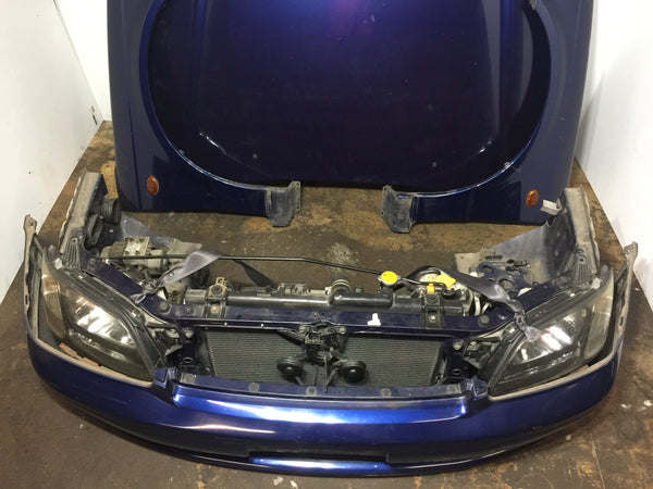 JDM Subaru Legacy BH5 BE5 Front End Assembly with Hood Rad Support Headlights Bumper NO FENDERS