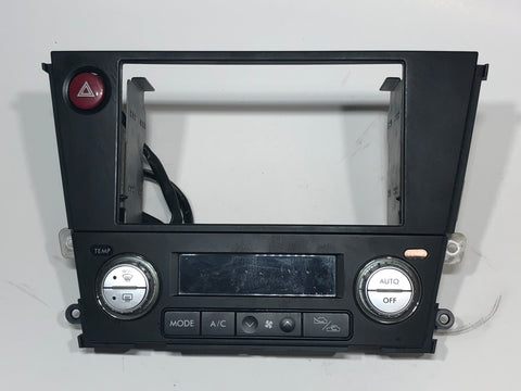 SUBARU Genuine LEGACY Outback Double DIN Audio Panel Fascia BP BL Black G3017AG