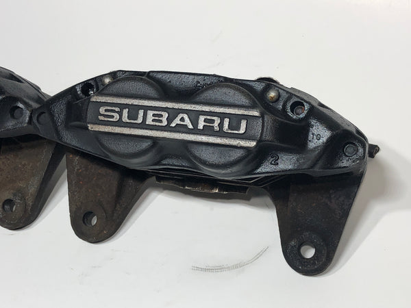 JDM 2002-2014 Subaru Impreza WRX Front Rear Brake Calipers 4 Pot Genuine OEM