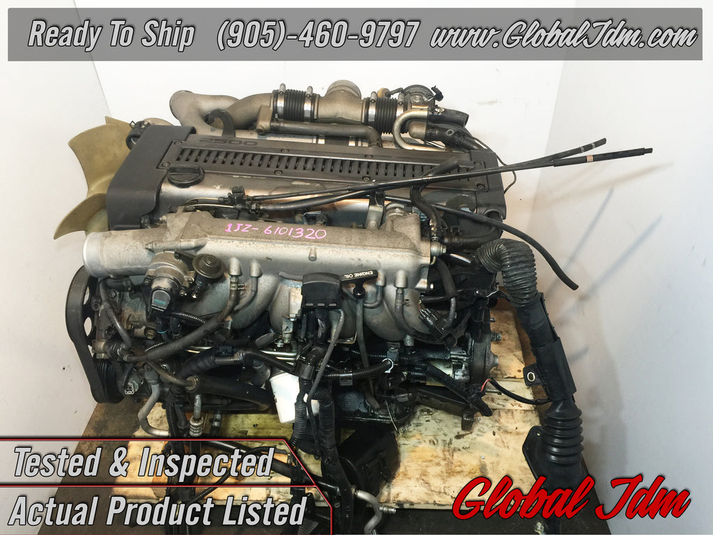 Jdm Toyota 1jz Gte Engine Twin Turbo Non Vvti Rear Sump Motor 25l Wiring Harness Plugs Sup Global Auto Parts Inc