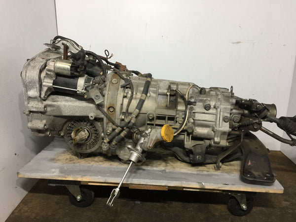 05-09 Subaru Legacy 3.0L 6-Speed AWD Manual Transmission JDM EZ30 3.90 TY856WVDBA