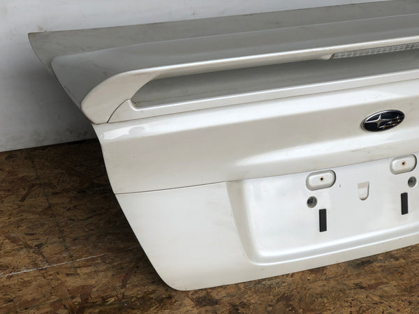 JDM 05-09 Subaru Legacy GT Spec B Sedan 4DOOR OEM Trunk Boot Lid Spoiler, Light