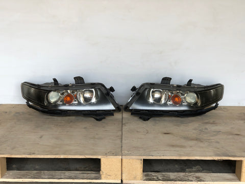 Honda JDM Accord Acura Euro R TSX CL7 CL9 CM2 KOUKI Head Lamp Light OEM FACELIFT Black Housing HID