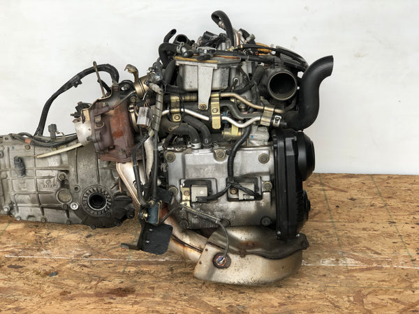 JDM Subaru Forester XT EJ205 AVCS Engine 03-05 - C221700 ENGINE ONLY AVAILABLE