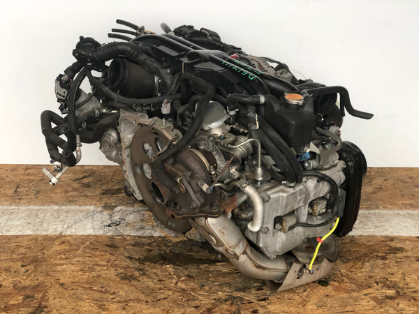 Jdm Subaru Impreza WRX EJ255 Turbo Engine 2008-2014 OEM Direct Replacement - D517111  3/10