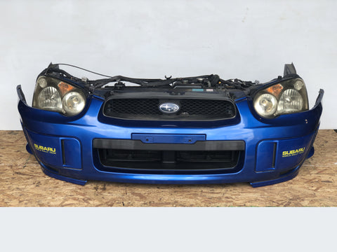 Jdm Subaru Impreza WRX STi 2004-2005 Blobeye Sedan Ver 8 Front End Conversion