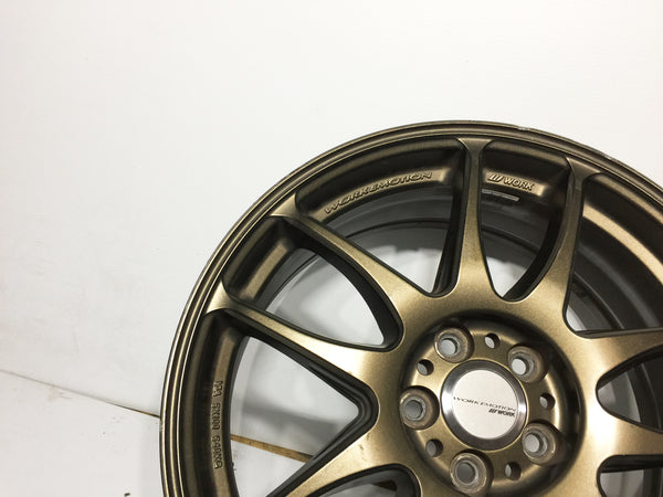 JDM Work Emotion Kiwami 5x100 17x7 +53 Rims
