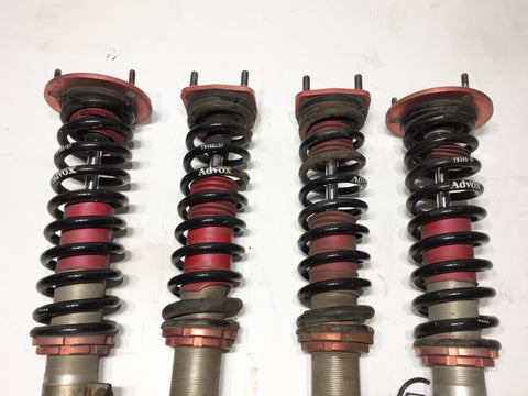 JDM 01-05 Lexus Is300 Toyota Altezza SXE10 TOMS Advox Coilovers Shocks Strut Genuine