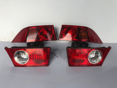 JDM Honda Accord Acura TSX Tail Lights Lamps OEM 2004-2008 Sedan 4-Door Genuine