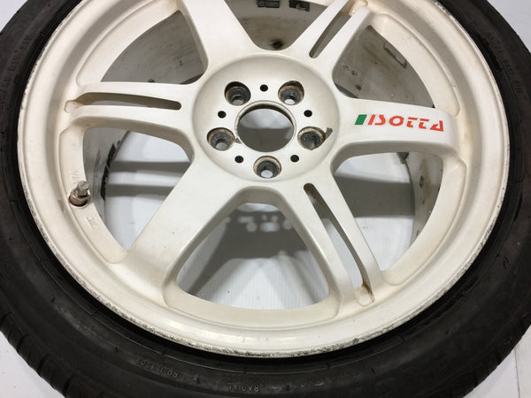 JDM Rays Isotta IR6 Forged 17 inch 17x7 1/2JJ 5x100 Wheels Rims OffSet +48