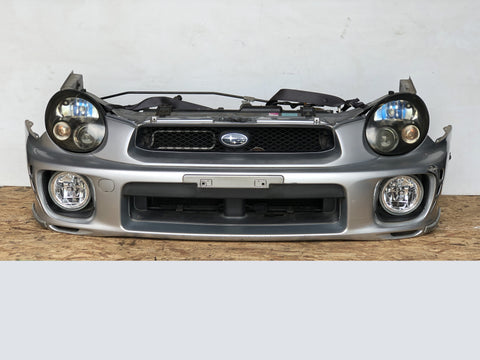 02-03 JDM Subaru Impreza STI Bugeye Front End Conversion Fenders Hood Sedan V7