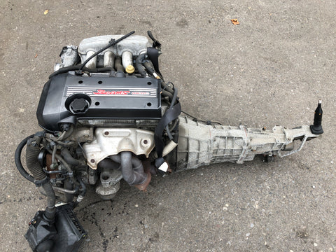 JDM Toyota Altezza Lexus IS300 3S-GE Beams VVTi Engine 6speed Transmission ECU