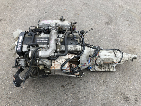 JDM Nissan Skyline GTST R34 RB25DET 2.5L Turbo Engine Automatic Gearbox AT