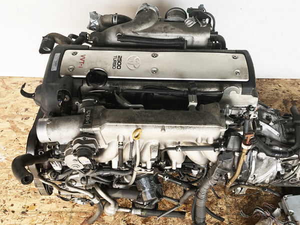 JDM Toyota 1JZ-GTE VVTI 2.5L Front Sump Engine Auto Transmission Supra Soarer | FREE SHIPPING |