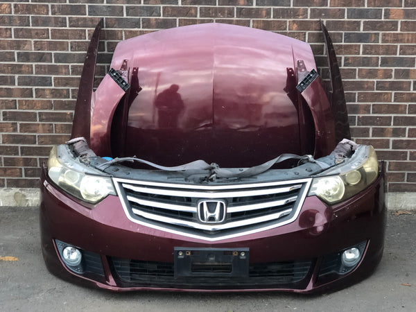 JDM 09-13 Honda Accord Acura TSX Front End Conversion Hood Bumper Fenders Genuine