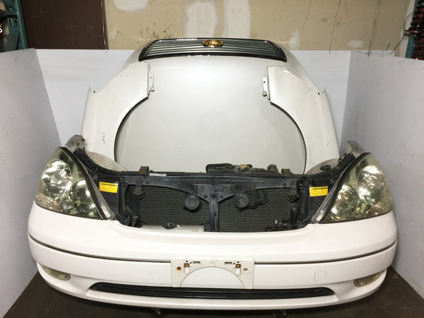 JDM Lexus LS430 01-03 Front End Conversion Headlights Bumper Hood Fenders OEM