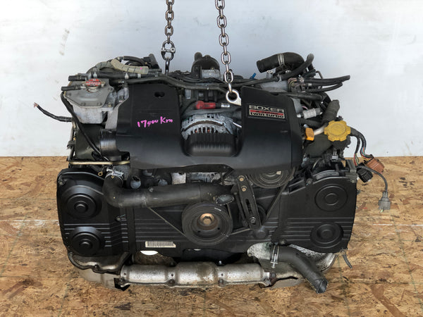 JDM 99-01 Subaru Legacy RSK & GT-B EJ208 Twin Turbo 2.0L Dohc Long block Engine