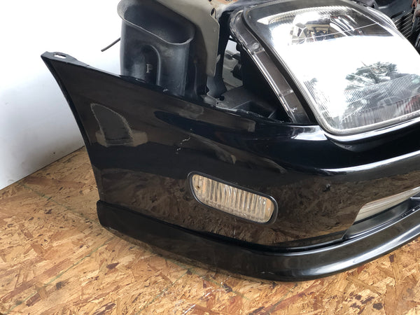 JDM 97-01 Honda Prelude Type S BB6 Front End Nose Cut Conversion, Bumper Lip, Grille