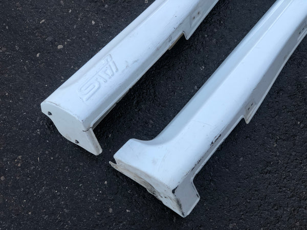 JDM 2003-2008 Subaru Forester XT Cross Sport Rear End Bumper & Lip + Side Skirts