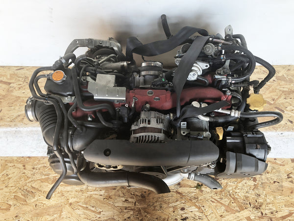 JDM EJ257 Subaru Impreza WRX STi 2008-2014 2.5L Direct Engine Swap with Dual-AVCS and VF48 Turbo