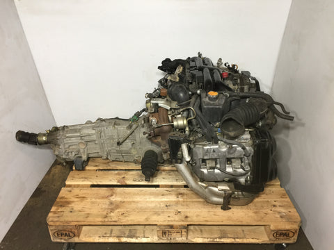 JDM 05-06 Subaru Legacy GT EJ20Y Engine 2.0L Turbo AVCS Motor - C284241 Engine