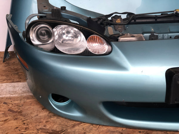 JDM Mazda Miata Front End Conversion NB8C 1999-2005 Headlights Bumper Hood Fenders