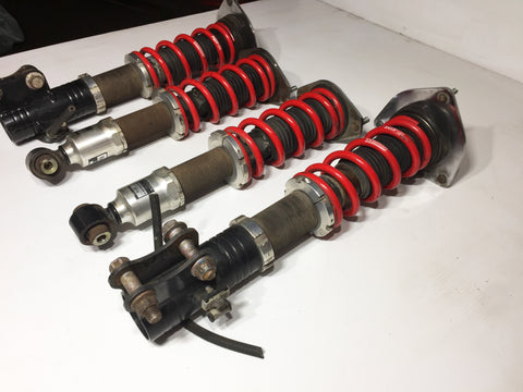 JDM Subaru Impreza WRX 2008-2014 RS-R Adjustable Coilovers Struts Shocks 5x100