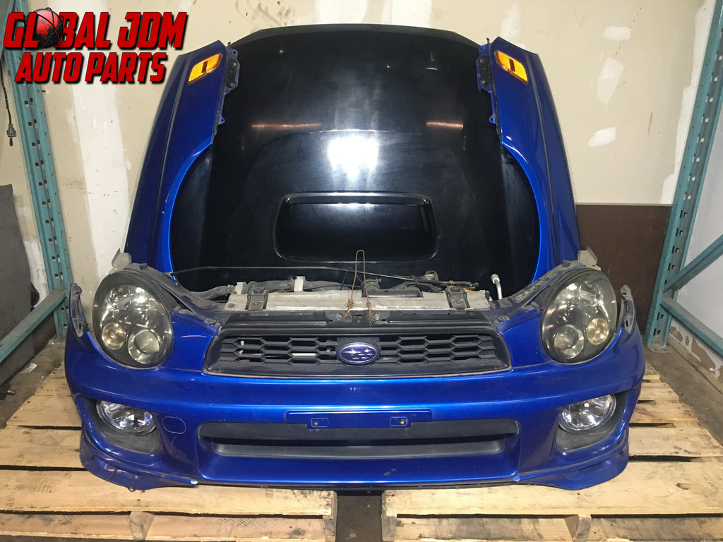 jdm subaru impreza wrx sti gda v7 front end conversion headlights