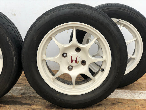 JDM 96-97 Honda Integra Type R OEM 4x114.3 Wheels 15X6 ET50 Rims Mags / Tires