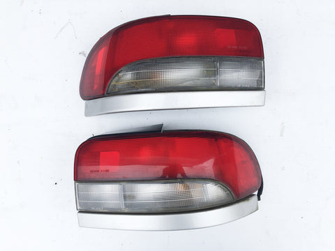 JDM Subaru Impreza WRX GF8 GF Sedan Rear Tail Lights Lamps Pairs OEM 92-00 Kouki
