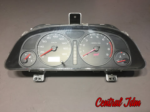 JDM Subaru SF5 Forester STi Automatic Gauge Cluster Speedometer SF5 A/T 98-02