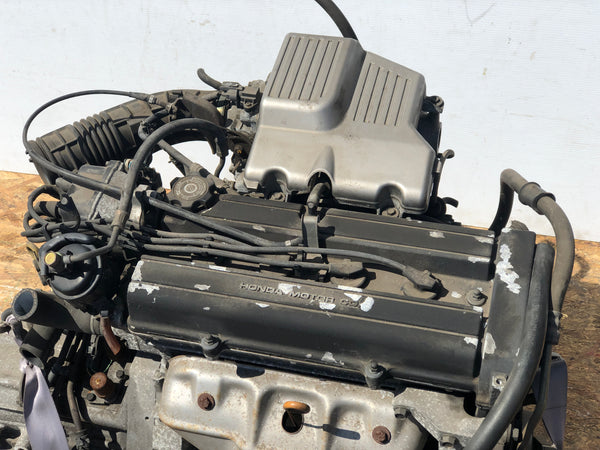 99 01 HONDA CRV 2.0L DOHC HIGH COMPRESSION LOW INTAKE ENGINE ONLY JDM B20B