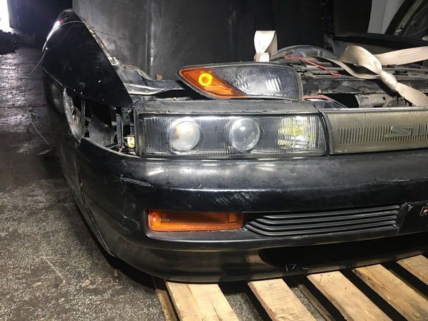 NISSAN SILVIA S13 JDM FRONT END CONVERSION