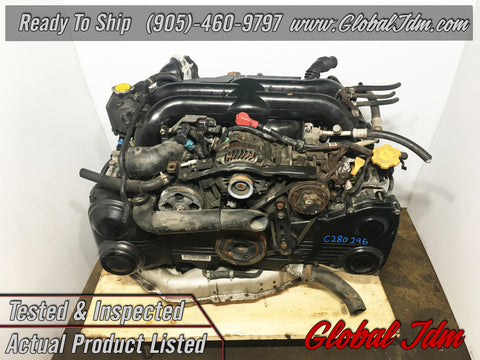 JDM 05-06 Subaru Legacy GT EJ20Y Engine 2.0L Turbo AVCS Motor Replacement for EJ255