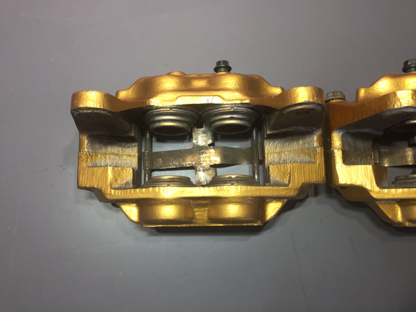 JDM Subaru Impreza WRX STi 4 Pot Front Brake Calipers OEM Genuine Custom Painted