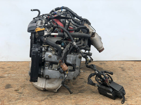 2004-2005 Subaru Impreza STI EJ207 Engine Version 8 VF37 Turbo 2.0L Motor JDM V8