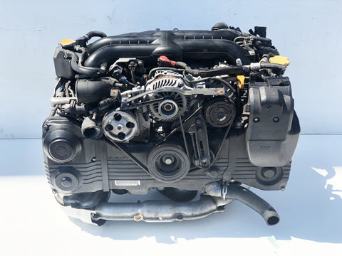 Jdm Subaru Impreza WRX EJ255 Turbo Engine 2008-2014 OEM Direct Replacement - D619273  6/10