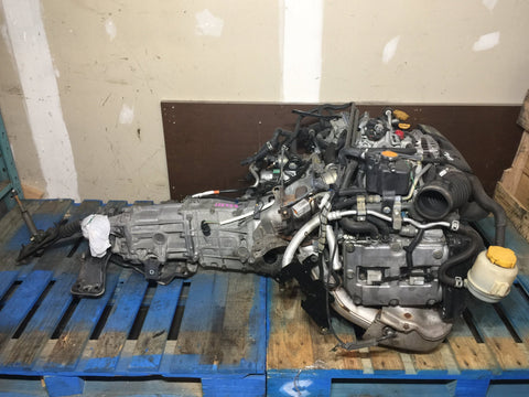 JDM Subaru Impreza WRX EJ20 EJ20T EJ205 Turbo Engine 5 Speed Transmission 2002-2005