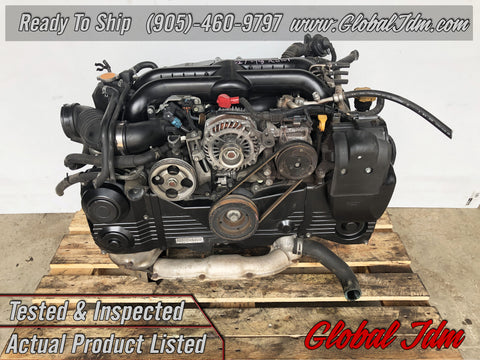 Jdm Subaru Impreza WRX EJ205 Turbo Engine 2008-2014 OEM Direct Replacement - D450332