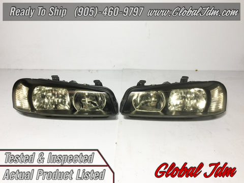 JDM NISSAN Genuine SKYLINE GT-R BNR34 R34 ER34 ENR34 HR34 Head Lights lamp OEM