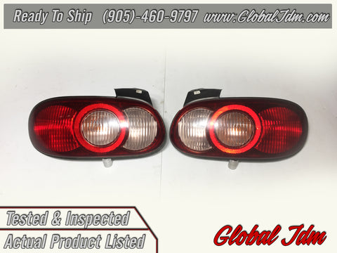 JDM 99-05 Mazda MX5 MX-5 Miata NB OEM Left Right Rear Brake Tail Lights Pair OEM
