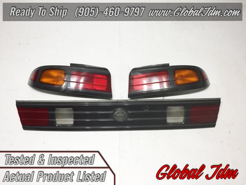 JDM Nissan S14 Silvia Kouki 240SX SR20DET OEM Tail Lights Lamps Japan Imported