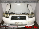 JDM Subaru Forester SG5 Facelift Bumper Headlights Fenders Hood Grille Fogs 2006-2008 ON SALE