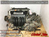 JDM 02-06 Honda CR-V K24A 2.4L DOHC i-VTEC Engine CRV - 4017734 Engine
