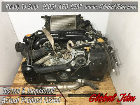 Jdm Subaru Impreza WRX EJ205 Turbo Engine 2008-2012 OEM Replacement for EJ255 - E203831