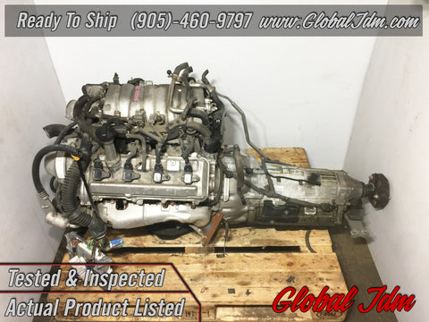 JDM Lexus LS430 GS430 SC430 Toyota 3UZ-FE 4.3L V8 VVTi Engine 6 Speed Automatic Transmission