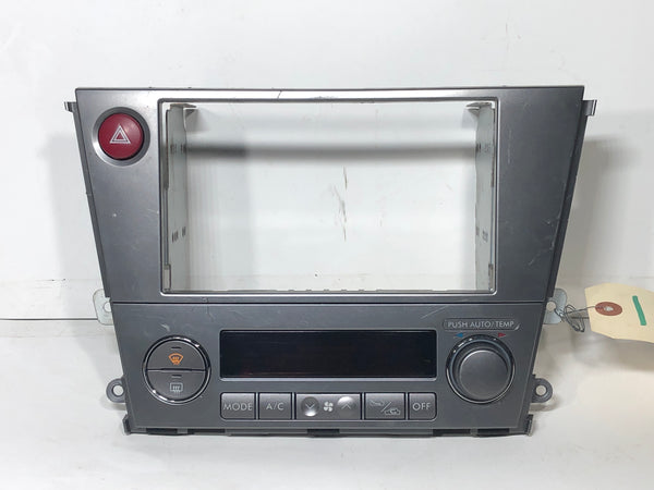 SUBARU Genuine LEGACY Outback Double DIN Audio Panel Fascia BP BL Silver 72311AG