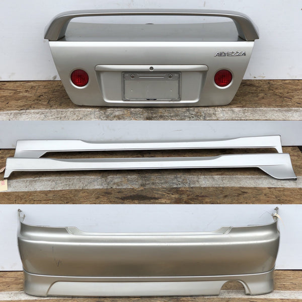 JDM 1998-2005 Toyota Altezza Lexus IS300 TRD Trunk & Wing + Side Skirts + Rear Bumper & Lip